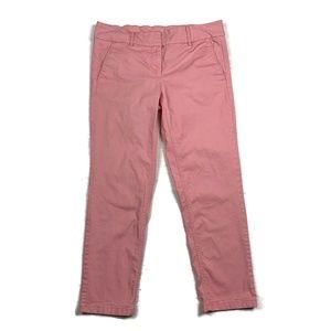 Ann Taylor Loft Chino Marisa Pants Pink Straight